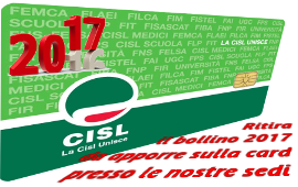 Tessera.Cisl.2017